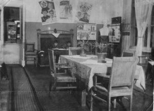 06 - La sala di lettura dell'Istituto del Soccorso Rosso ad Ivanovo