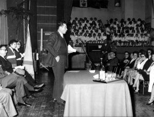 30 - Milano, manifestazione dell'Unione Democratica Amici d'Israele. Anni settanta.