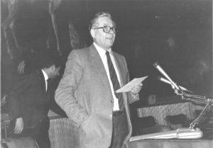 31 - Seniga ad una maniferstazione dell'UDAI negli anni '80